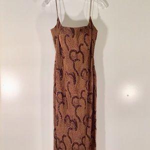 Cache beaded dress.